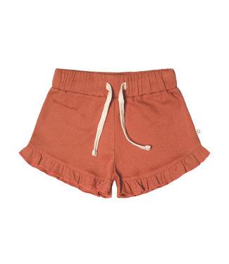 Your Wishes Rib Terra Shorts Ruffle