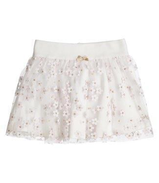 Gymp Skirt Margaret Off White/Gold