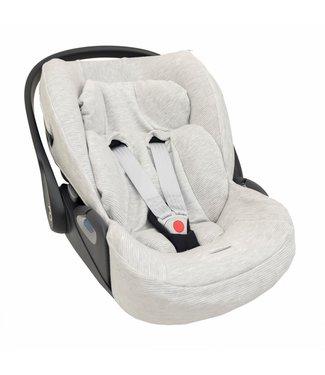 Trixie Car Seat Cover Cybex Cloud Z i-Size Powder Stripes