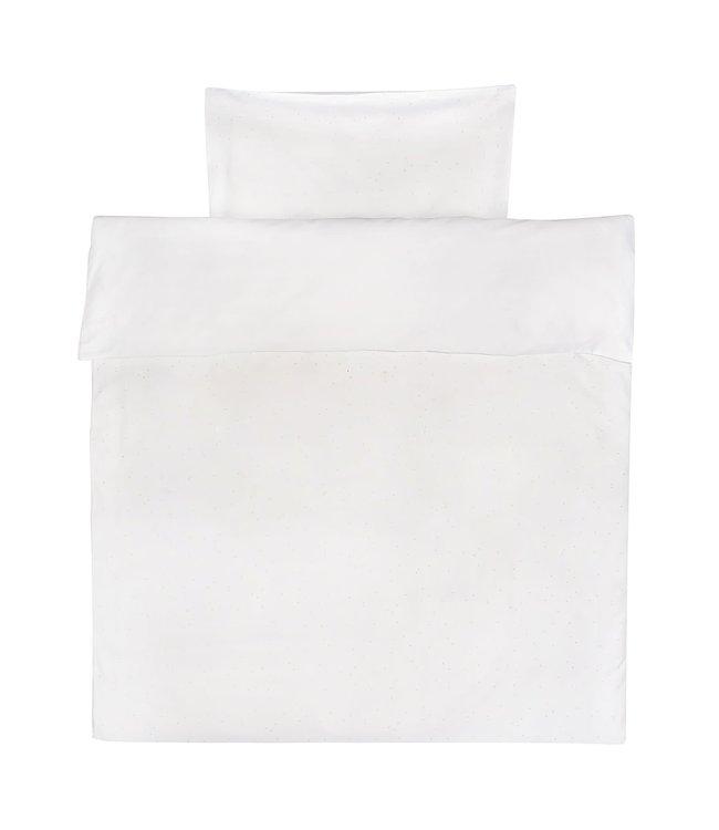 Trixie Cot Duvet Cover & Pillow Case Gold Blossom