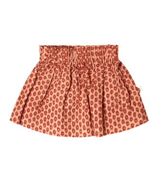 Your Wishes Broderie Terra Skirt Peach
