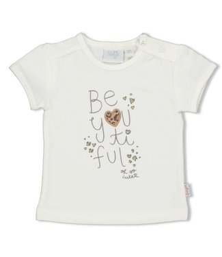 Feetje Tee Offwhite Panther Cutie