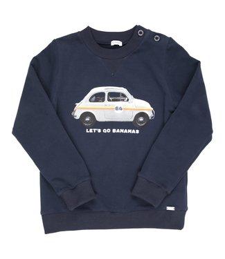 Gymp Sweater Navy Fiat 500