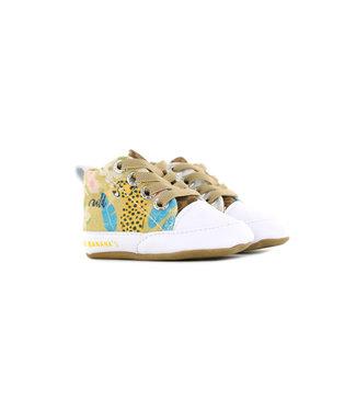 Go Banana's Babysneaker Leopard Crema