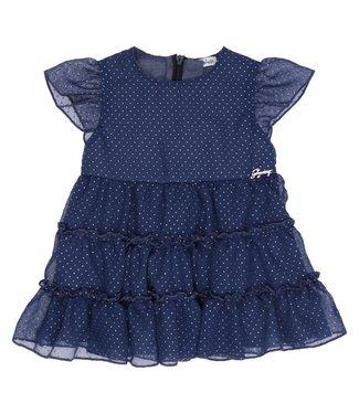 Gymp Dress Georgette Blue