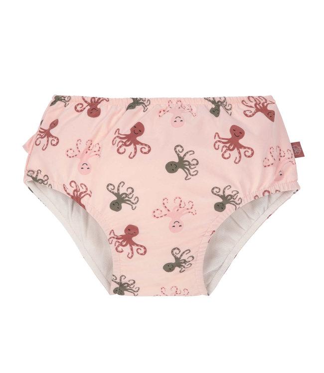 Lassig Swim Diaper Octopus Rose