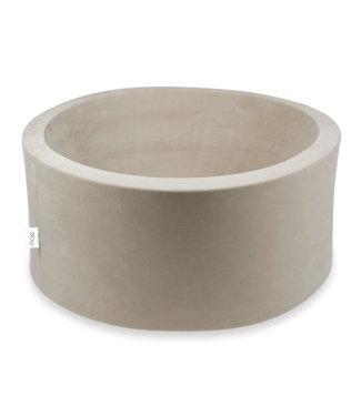 Moje Ballenbad Soft Velvet Beige 90x40 Cm