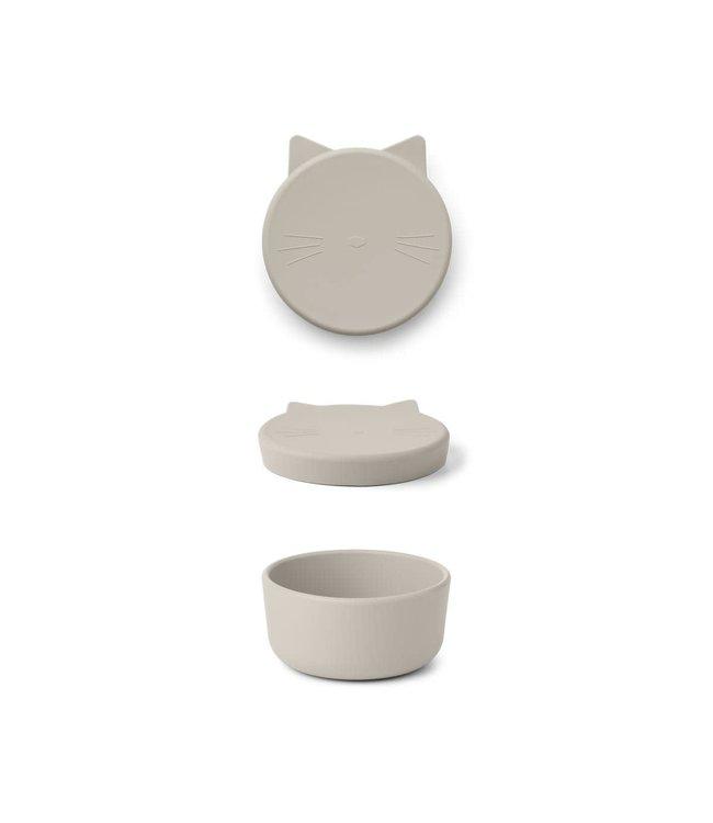 Liewood Cornelius Snack Box Cat Sandy