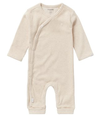 Noppies Playsuit Nevis Rib Oatmeal