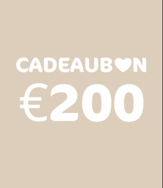 Kidsloft Cadeaubon 200 euro