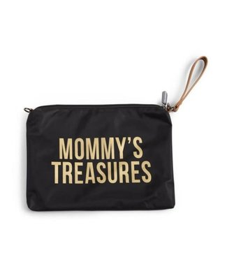 Childhome Mommy Clutch Black-Gold