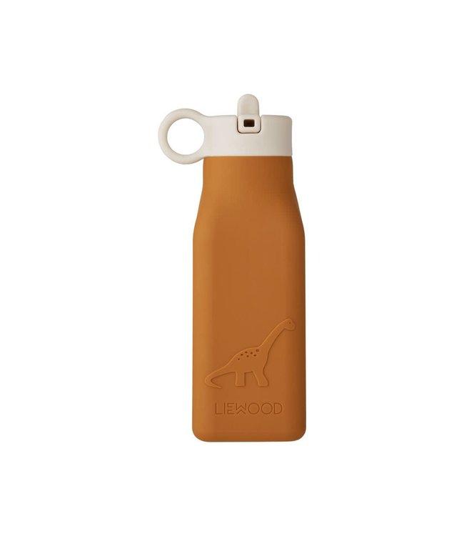 Liewood Warren Bottle Dino Mustard