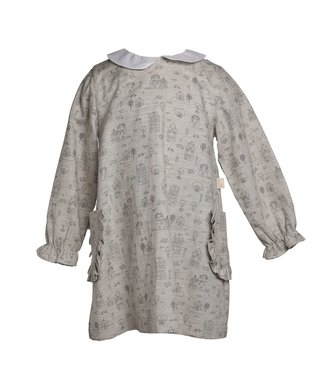 Baby Gi Grey dress With Pockets Village