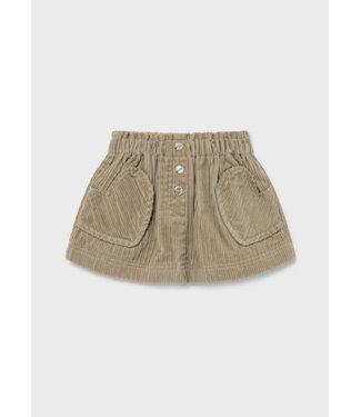 Mayoral Cordury Skirt Sand