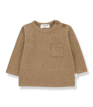 1+InTheFamily Oriol T-Shirt Brandy