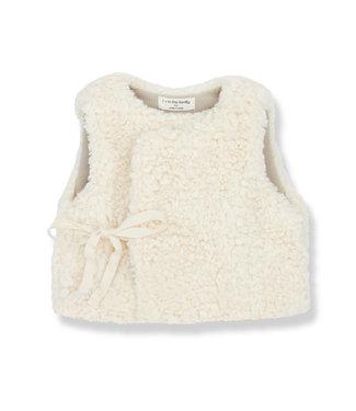 1+InTheFamily Claire Vest Ecru