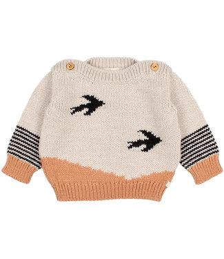 Buho Baby Birds Knit Jumper