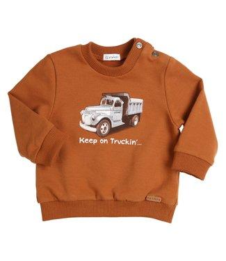 Gymp Sweater Truck Cognac