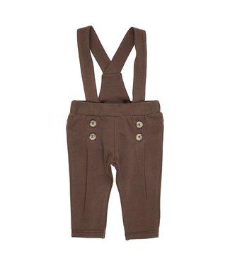 Gymp Pants Suspenders Brown