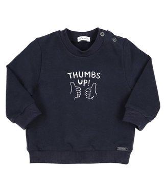 Gymp Sweater Tumbs Up Marine