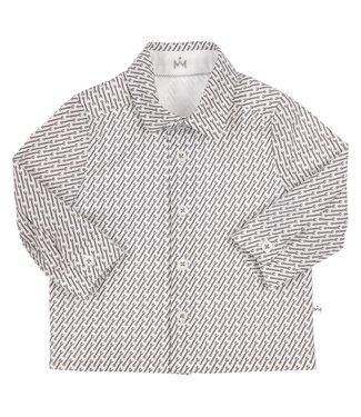 Gymp Shirt White Antracite