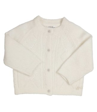 Gymp Knitted Cardigan Off-White