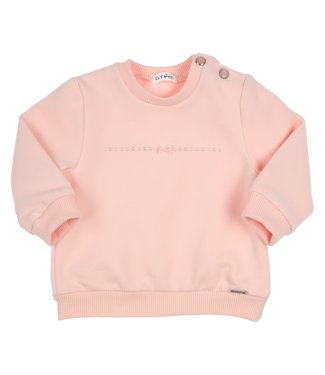 Gymp Sweater Strass And Bow Vieux - Rose