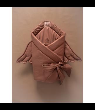 Huggles Republic Baby Horn Wings Chocolate