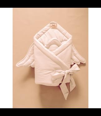 Huggles Republic Baby Horn Wings Beige