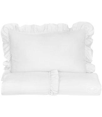 Cotton & Sweets Boho Bed Linen White