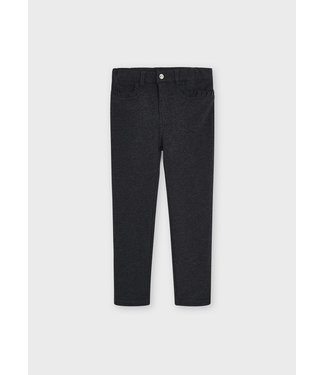 Mayoral Fleece Basic Trousers Antracite