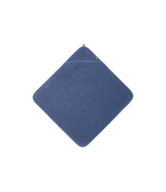 Jollein Badcape Badstof 75 x 75cm Jeans Blue