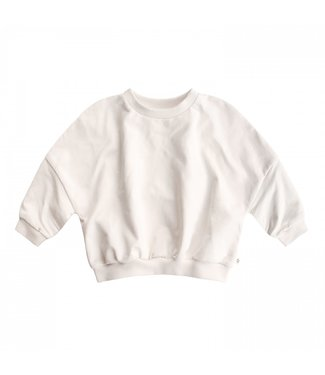 Your Wishes Nio Sweater Solid Chalk