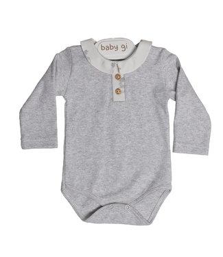 Baby Gi Grey Bodysuit Fox