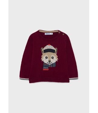 Mayoral Sweater Bordeaux Fox