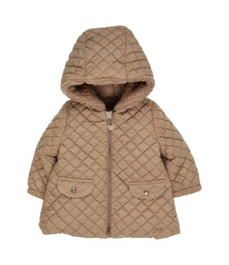 Gymp Coat With Hood Camel