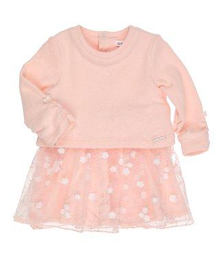 Gymp Combi Dress Tule Vieux-Rose