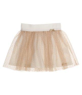 Gymp Skirt Off-White/Gold