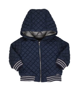 Gymp Quilted Coat Marine