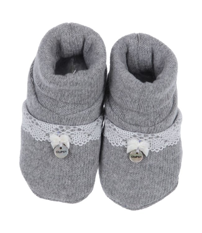 Gymp Shoes Lace And Bow Gillo Grey