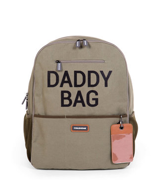 Childhome Daddy Backpack Canvas Khaki