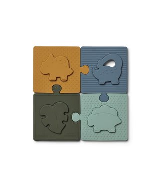 Liewood Bodil Puzzle Dino/Blue Multi Mix