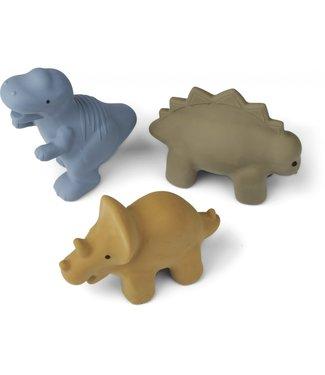 Liewood David Toys 3-Pack Dino Blue Multi Mix