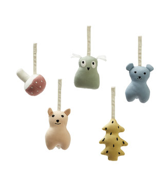 Kid's Concept Baby Gym Figures Woodland Edvin