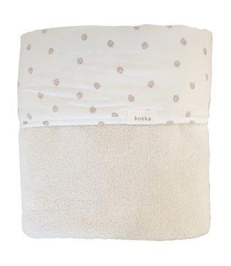 Koeka Oaky Wiegdeken Reversible Warm White