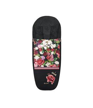 Cybex Platinum Footmuff Spring Blossom Dark Black