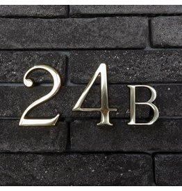 Huisnummer in koper