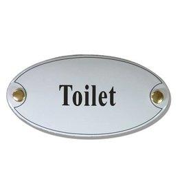 Naamplaatje toilet