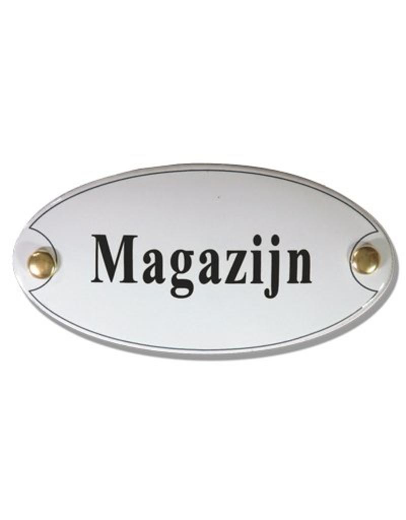Naamplaatje magazijn