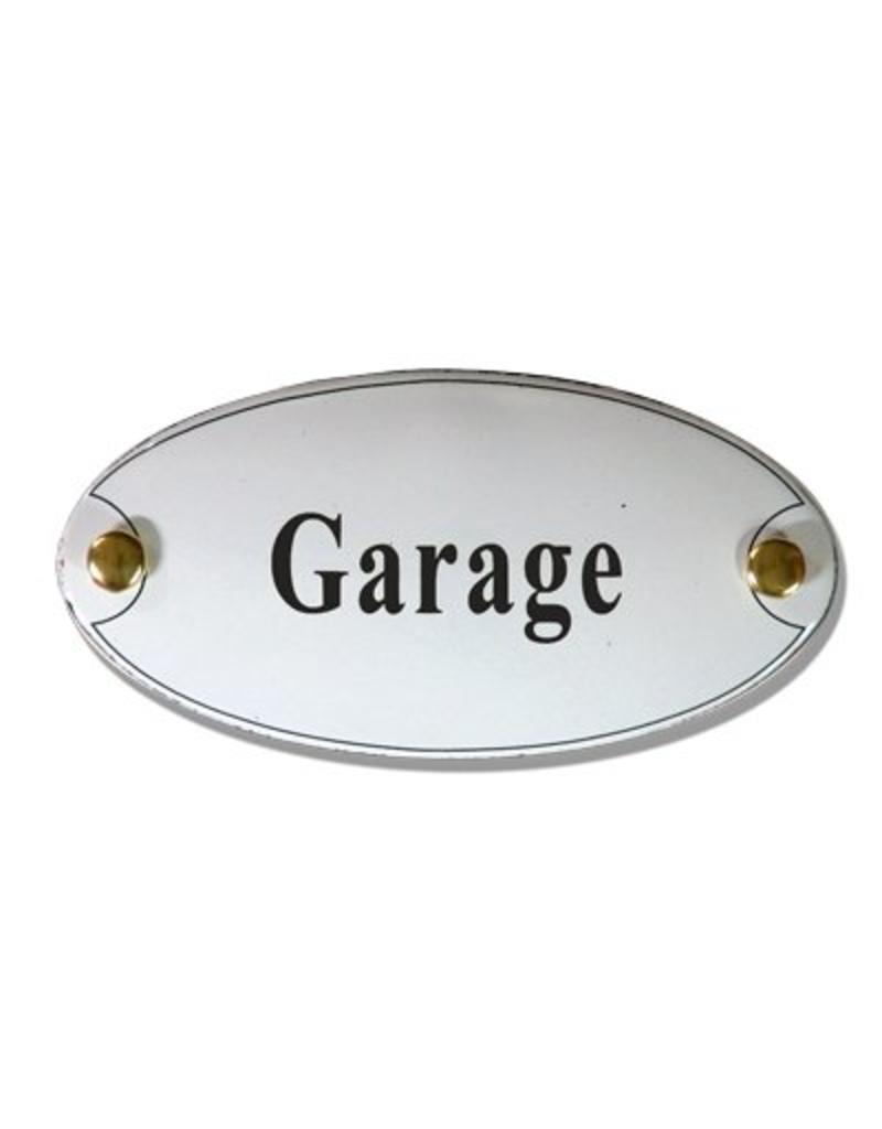 Naamplaatje garage